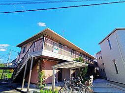 埼玉県入間市東藤沢2丁目の賃貸アパートの外観