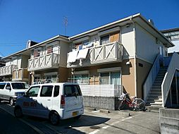 大阪府茨木市上穂積4丁目の賃貸アパートの外観