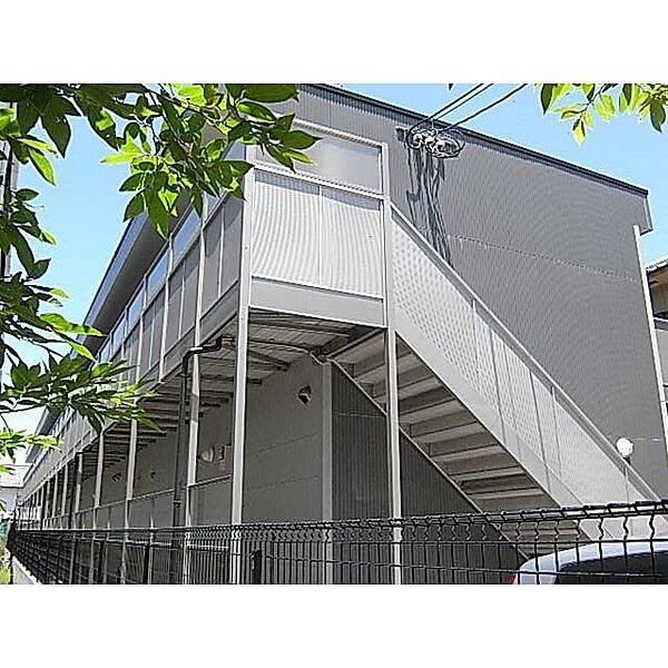 奈良県大和高田市日之出東本町の賃貸アパートの外観