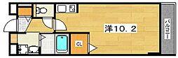 コンフォート・アザレア2番館[2階]の間取り