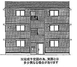 ポルト白石A棟[3階]の外観