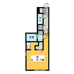 愛知県名古屋市昭和区小坂町3丁目の賃貸マンションの間取り