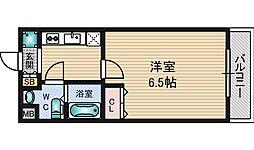 パークヒルズ新大阪ウィル[4階]の間取り