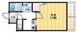 フェアライフII[1階]の間取り