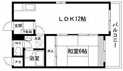 第5タナカビル[3階]の間取り