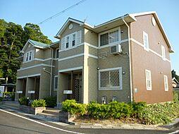 滋賀県蒲生郡日野町村井2丁目の賃貸アパートの外観