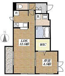 Silk Residence S[1階]の間取り