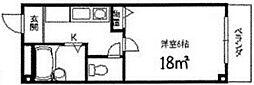 バモス2[301号室]の間取り