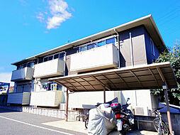 埼玉県所沢市東所沢4丁目の賃貸アパートの外観
