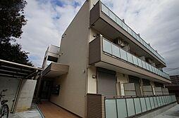 神奈川県横浜市鶴見区岸谷1丁目の賃貸アパートの外観