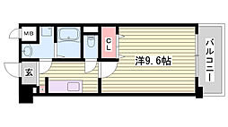 JR東海道・山陽本線 明石駅 バス17分 出合橋下車 徒歩5分の賃貸マンション 1階1Kの間取り