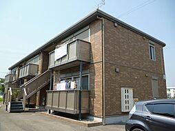 兵庫県加古川市平岡町一色西1丁目の賃貸アパートの外観