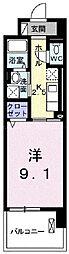 岡山電気軌道清輝橋線 清輝橋駅 徒歩16分の賃貸マンション 1階1Kの間取り