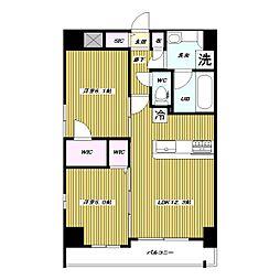仮 高島平1丁目 大和ハウス施工 新築賃貸マンション[9階]の間取り