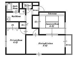 グリーンコート3[1階]の間取り
