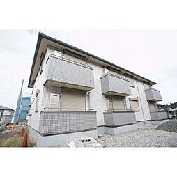 茨城県水戸市見川2の賃貸アパートの外観