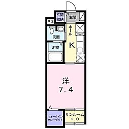 Animate Konishi[0102号室]の間取り