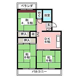 第8よし川ビル[1階]の間取り