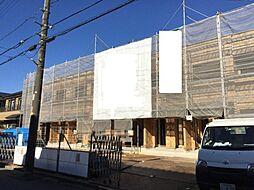 千葉県柏市松葉町3丁目の賃貸アパートの外観