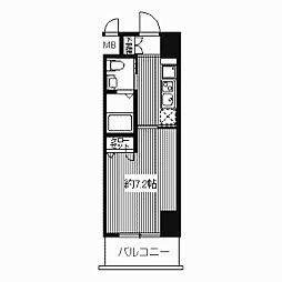 ドゥーエ江坂II(旧プライムアーバン江坂II)[0203号室]の間取り