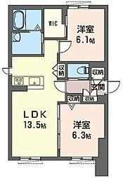 (仮)下大島町マンション[101号室]の間取り