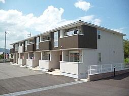 滋賀県甲賀市甲南町寺庄の賃貸アパートの外観