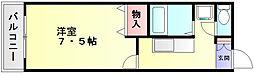 セトル柿ノ樹[1階]の間取り
