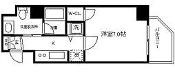 ファーストステージ京町堀レジデンス[4階]の間取り