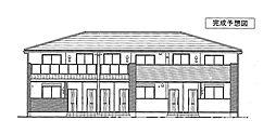 メイプレーヌD[1階]の外観
