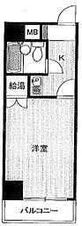 東京都文京区白山5の賃貸マンションの間取り
