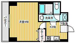 シティビル吉原II[3階]の間取り