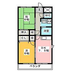TAKEOFF 7[1階]の間取り