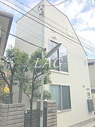 東京都北区志茂4丁目の賃貸アパートの外観