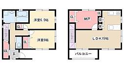 [一戸建] 愛知県名古屋市守山区鼓が丘2丁目 の賃貸【/】の間取り