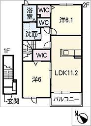 SK PLACE[2階]の間取り