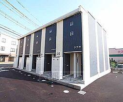 京都府城陽市寺田新池の賃貸アパートの外観