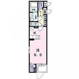 玉櫛2丁目マンション[2階]の間取り