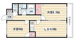 アビタシオン彩貴[2階]の間取り