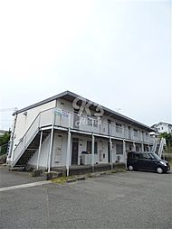 兵庫県明石市大久保町山手台2丁目の賃貸アパートの外観