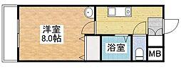 さくらマンション[503号室]の間取り