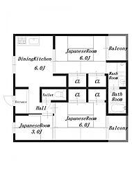 ビレッジハウス見瀬3号棟[1階]の間取り