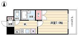 早川マンション[4階]の間取り