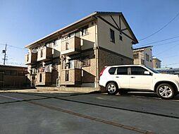 愛知県稲沢市下津長田町の賃貸アパートの外観