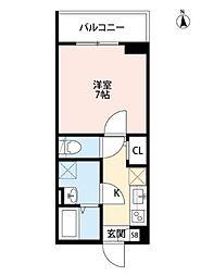 A-style武庫川(エースタイルムコガワ)[2階]の間取り