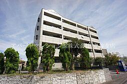 茨城県つくばみらい市陽光台4丁目の賃貸マンションの外観