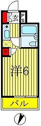 ウィンベルソロ八柱第5[302号室]の間取り