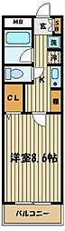 第3コーポレイトハウスセンチュリー[1階]の間取り