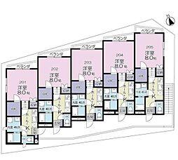 (仮称)柏市明原3丁目計画[2階]の間取り