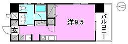 TREIZE REUNION(トレーズレユニオン)[301 号室号室]の間取り