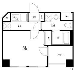 casa.coco[3階]の間取り